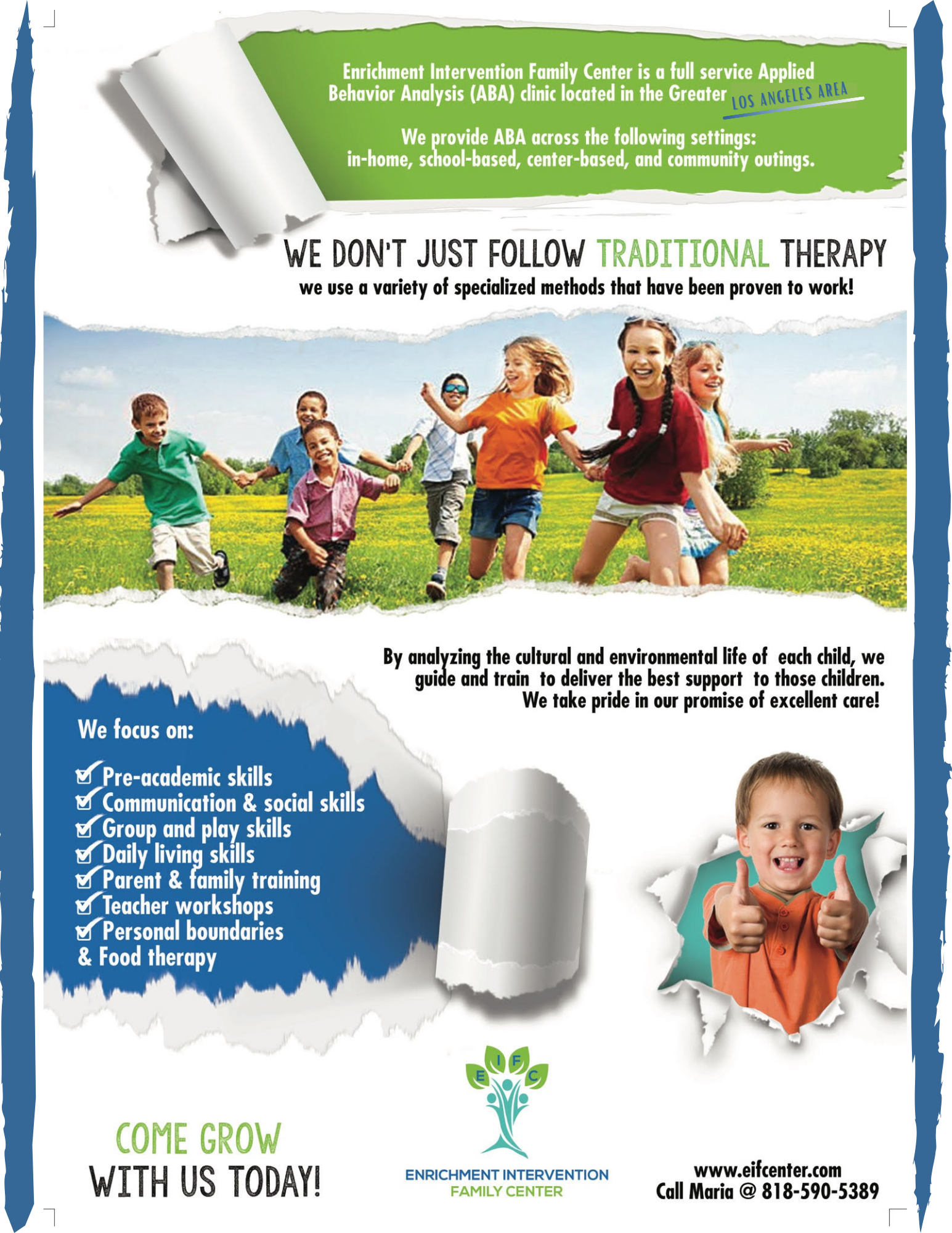 ABA Therapy in Woodland Hills